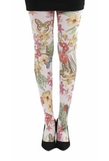 Pamela Mann Secret Garden printed tights