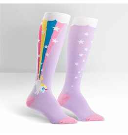 Sock it to me Sock it to me Rainbow Blast unicorn socks