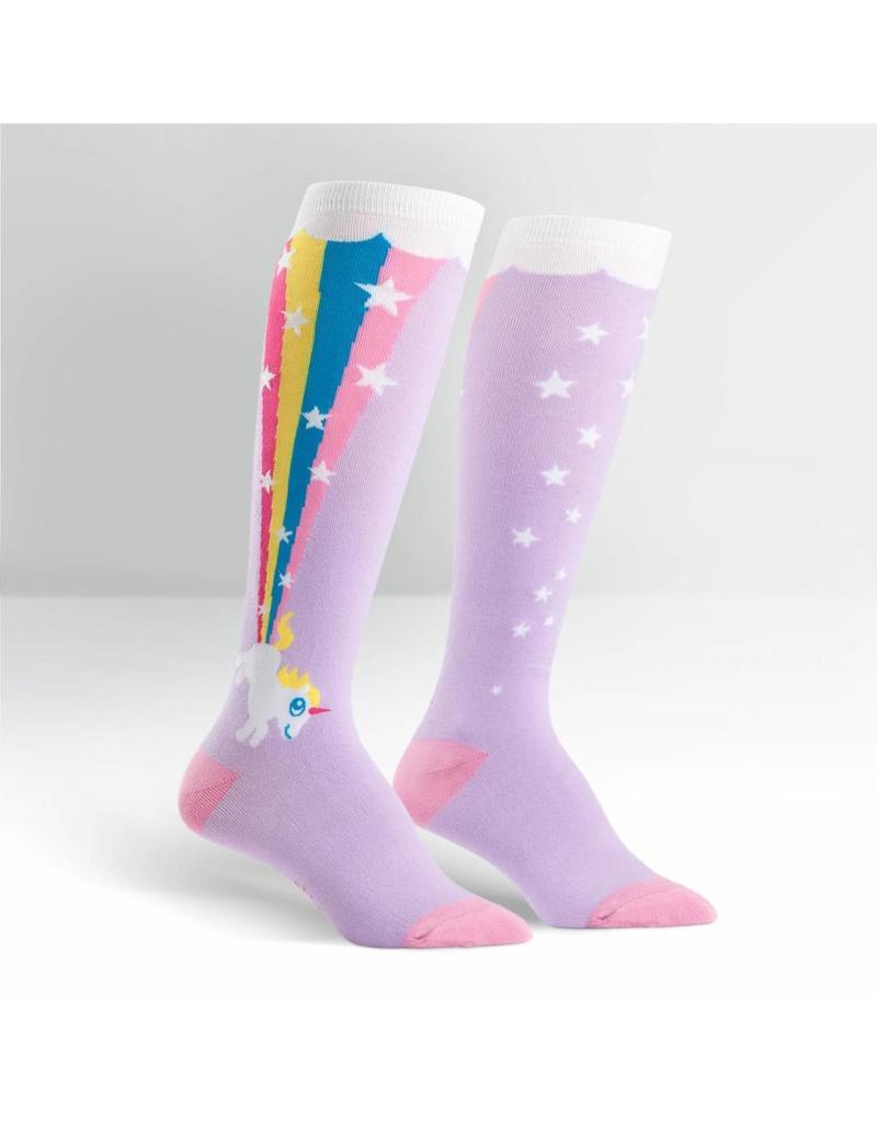 Sock it to me Sock it to me Rainbow Blast unicorn socks