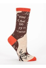 """Blue Q """"You can Do it"""" - coffee socks"""