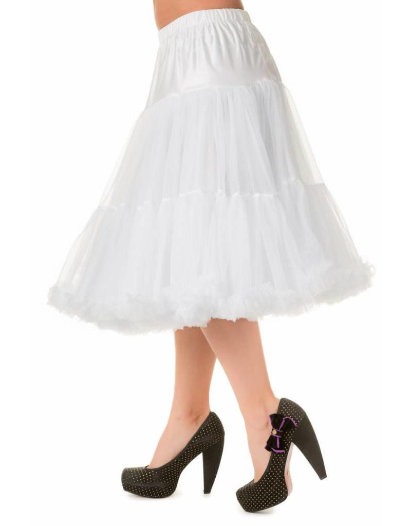 "Banned Banned Petticoat 27"" white"