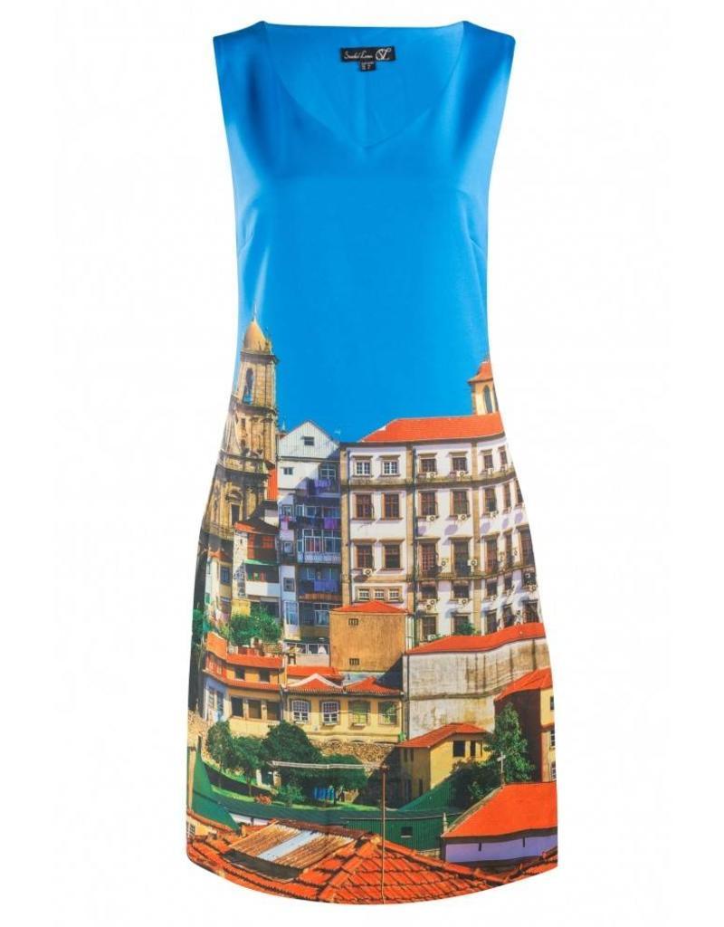 Smashed Lemon Italia dress