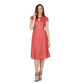 Lindy Bop 'Juliet' Pink Heart Dress