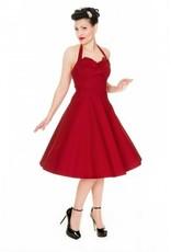 Lindy Bop Myrtle Vintage Halter Neck Swing Dress
