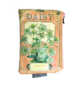 Disaster In Bloom Daisy makeup bag