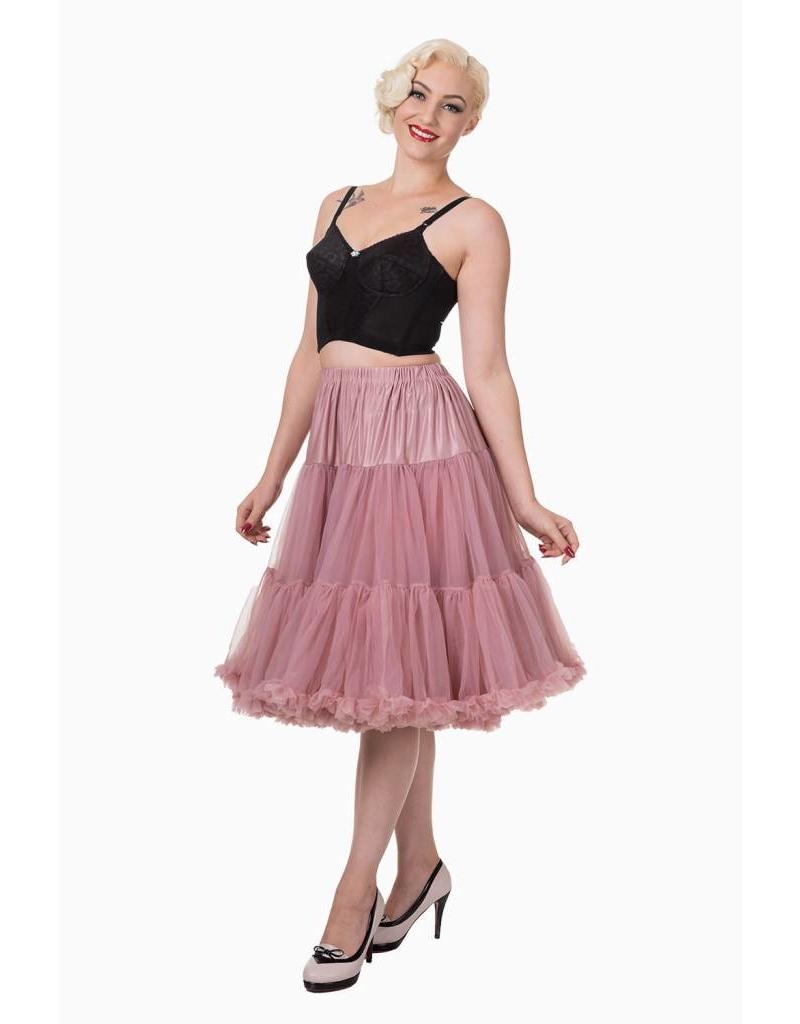 """Banned Banned Petticoat 27"""" dusty pink"""