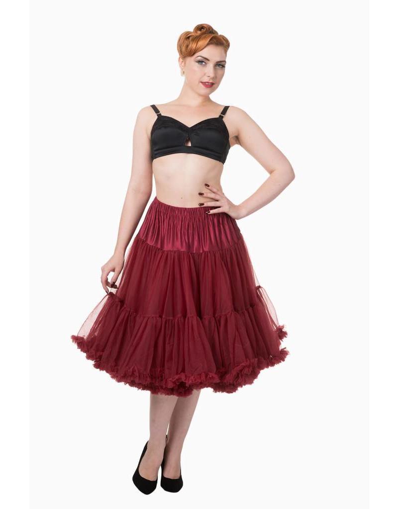 Banned Banned petticoat long Bordeaux
