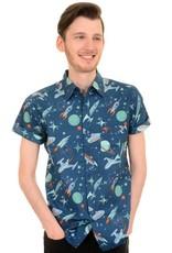 Run & Fly Space Retro shirt