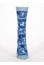 Blue Q Dogs!! socks