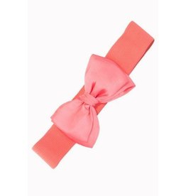 Banned Belt Bow pink