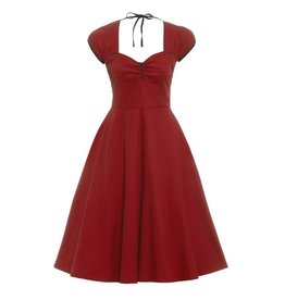 Lindy Bop Bella Wine dress