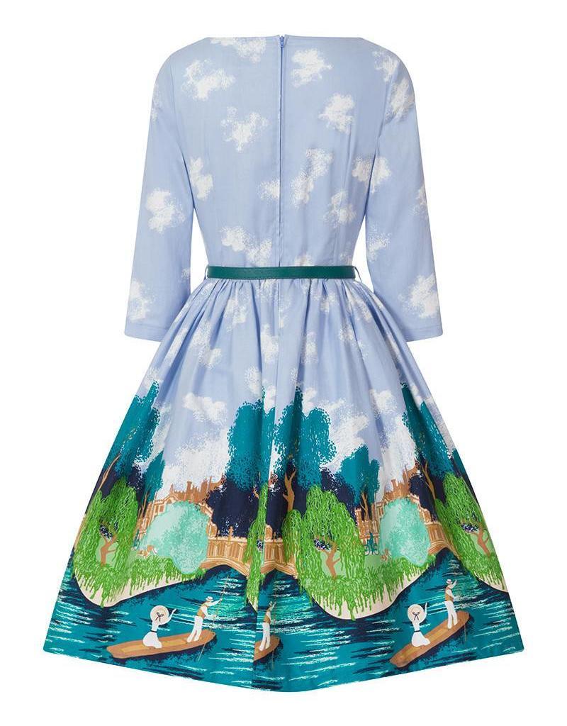 Lindy Bop 'Holly' Oxbridge Dress