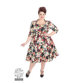Hearts & Roses Thorny Rose 3/4 Sleeve Dress