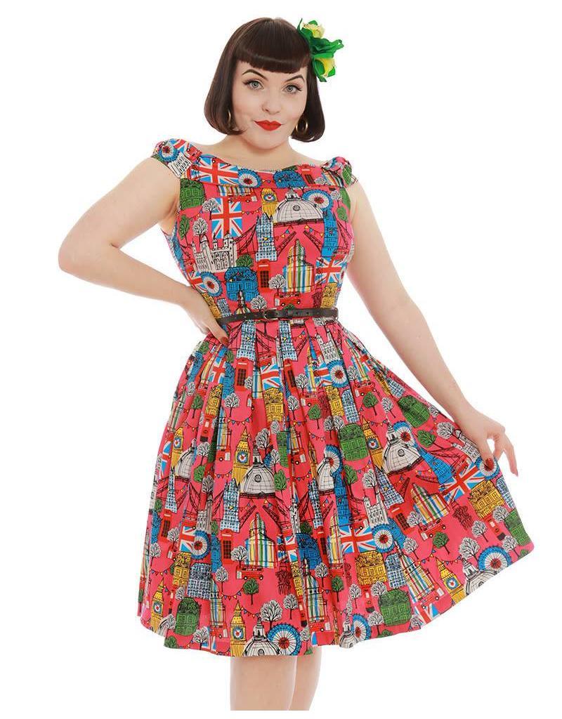 Lindy Bop 'Christie' London City Dress