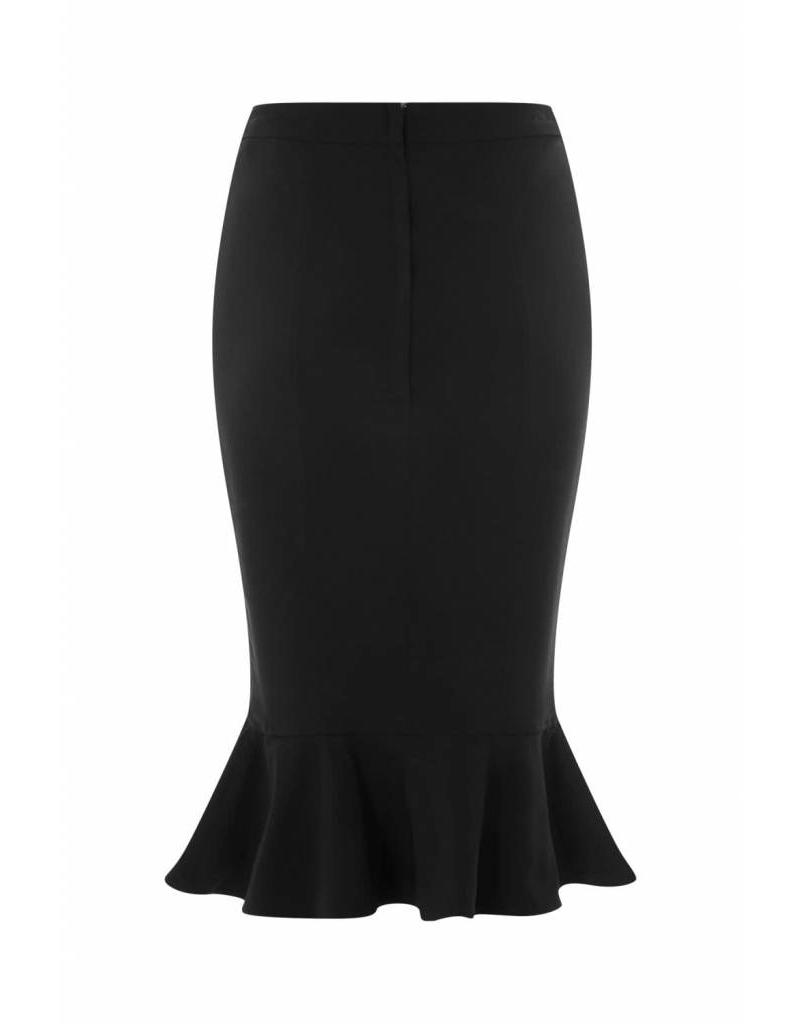 Collectif Winifred Fishtail skirt