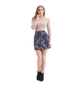 Collectif Paisley Skirt