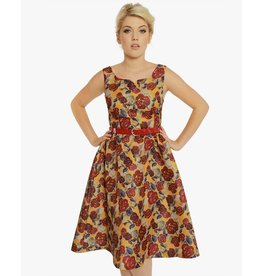 Lindy Bop 'Nova' Roses Dress