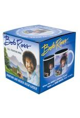 Bob Ross self painting mug