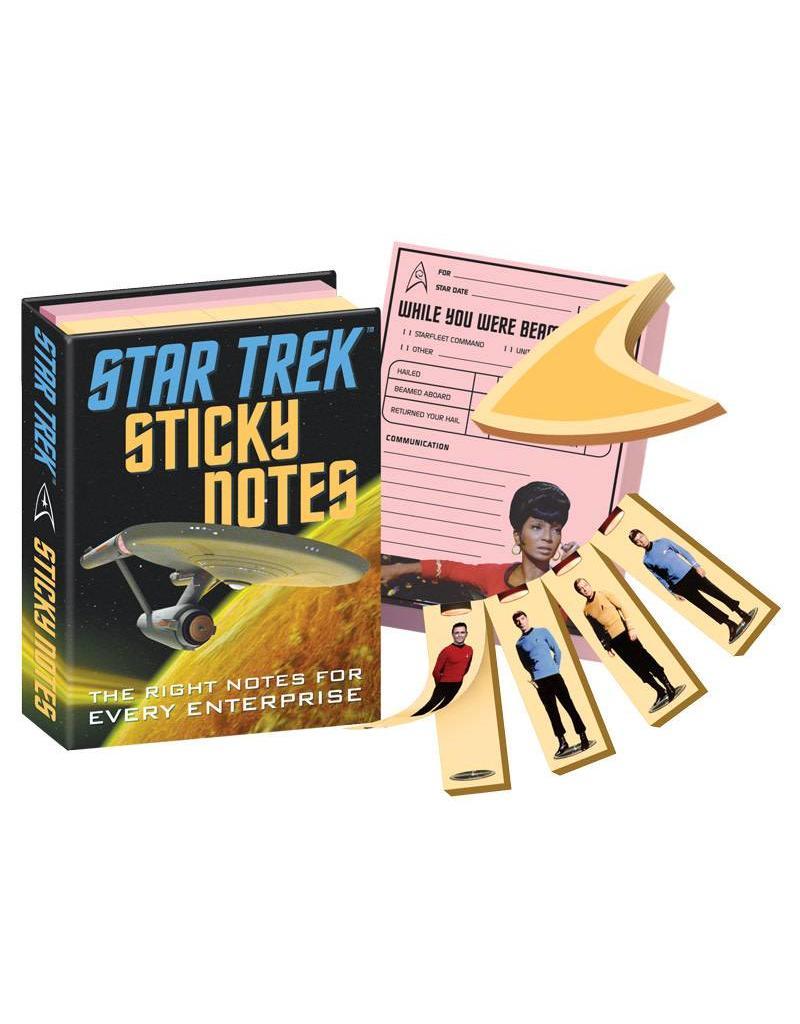 Star Trek sticky notes