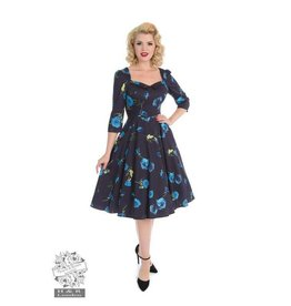 Hearts & Roses Blue Melody Dress