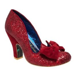 Irregular Choice Irregular Choice - Nick of Time Red Glitter