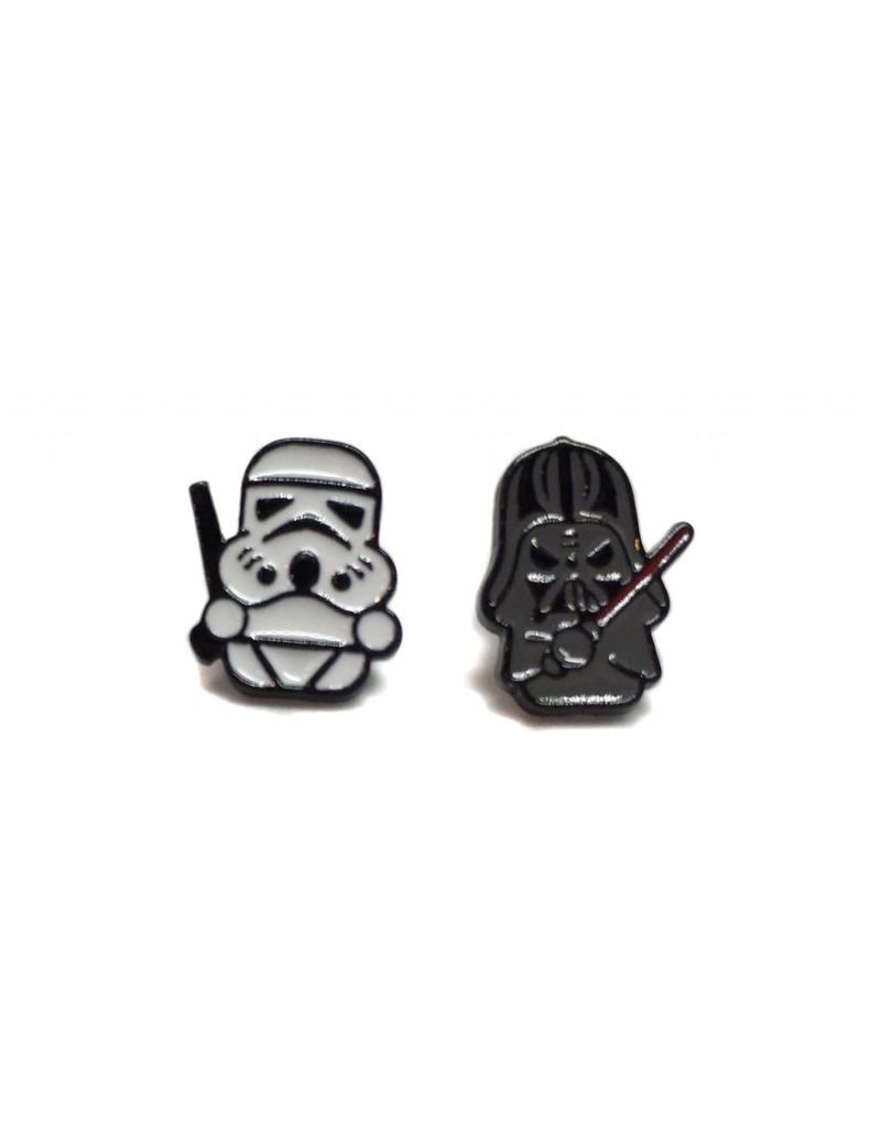 Star Wars Dark Side earrings