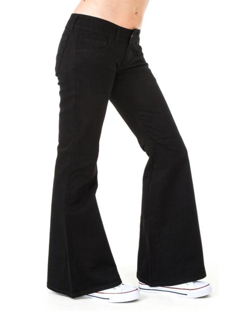 Run & Fly Black bell bottoms