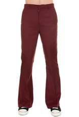 Run & Fly mens Bell Bottom burgundy