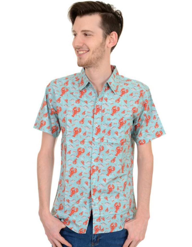 Run & Fly Lobster shirt short sleeves