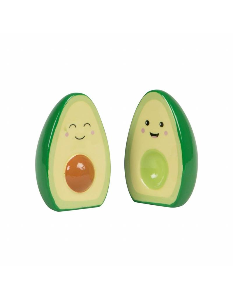 Sass & Belle Avocado Salt & Pepper Set