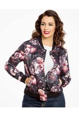 Lindy Bop 'Berrie' Bomber Jacket
