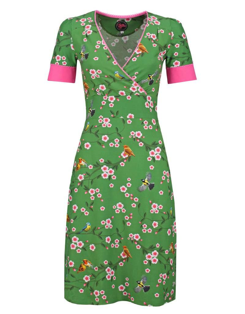 Tante Betsy Auntie Birds & Blossom dress