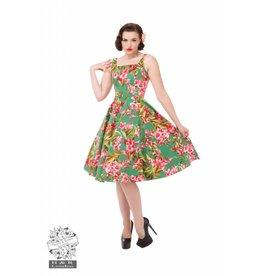 Hearts & Roses Maureen Floral Swing Dress