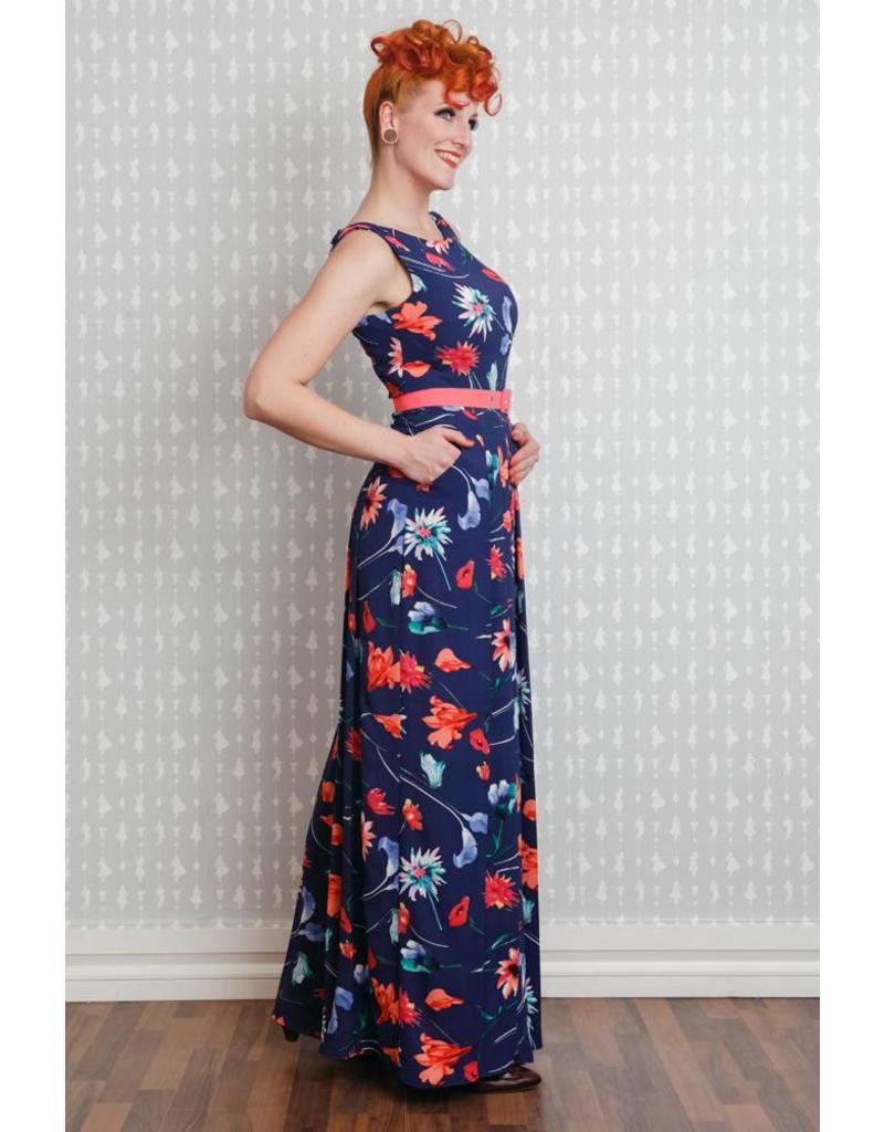 Miss Candyfloss Delia-Lee floral jumpsuit