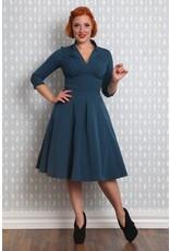 Miss Candyfloss Vedette Kat dress Petrol