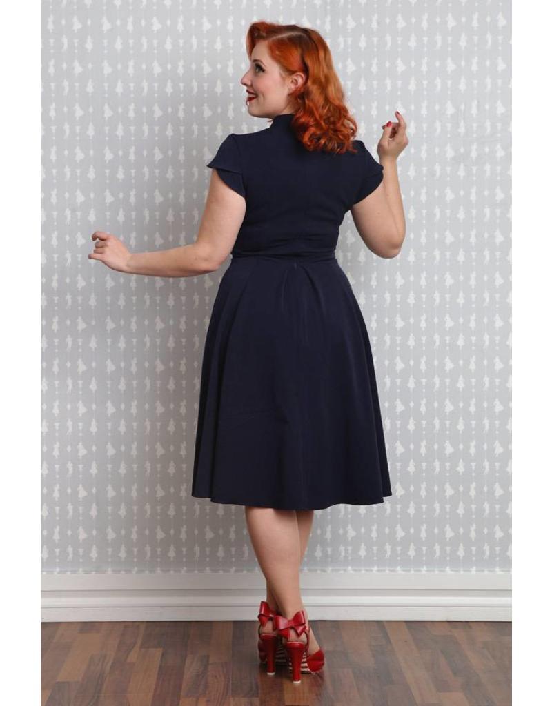 Miss Candyfloss Claudette-Lou dress Navy