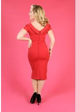 Miss Candyfloss Bailey-Rose dress red