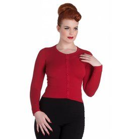 Hell Bunny Paloma cardigan Red
