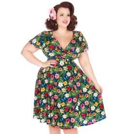 Lady V Lyra Summer Floral Navy dress