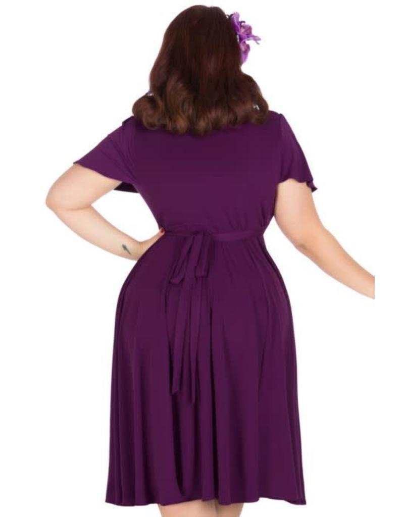 Lady V Lyra purple dress