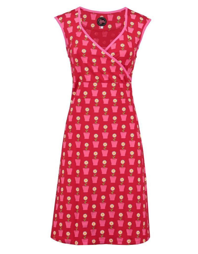 Tante Betsy Summer Cross Daisy dress