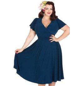 Lady V Lyra dress Navy