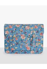Lindy Bop 'Satty' Floral Dog Print Satchel