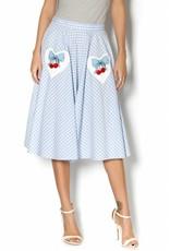 Hell Bunny Blue Gingham skirt