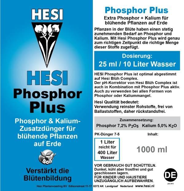 HESI Hesi Phosphor Plus Blütenbooster Erde