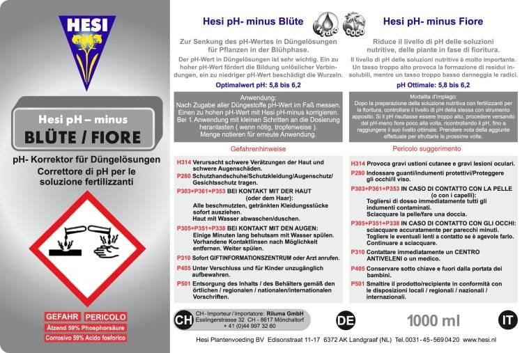 HESI Hesi pH- Blüte 1L