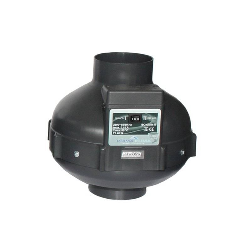 Prima Klima II Speed Radial Ventilator 160 420-800m3/h