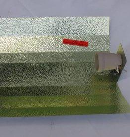 Reflektor Hammerschlag 47x40cm