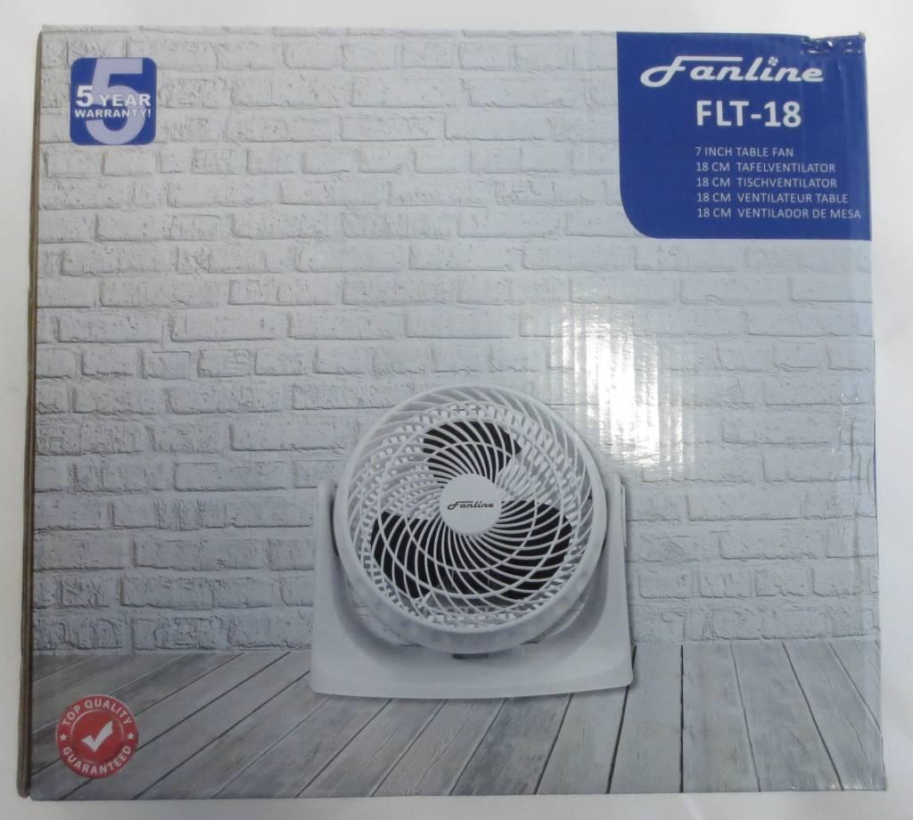 Fanline Tisch / Wand Ventilator 18cm