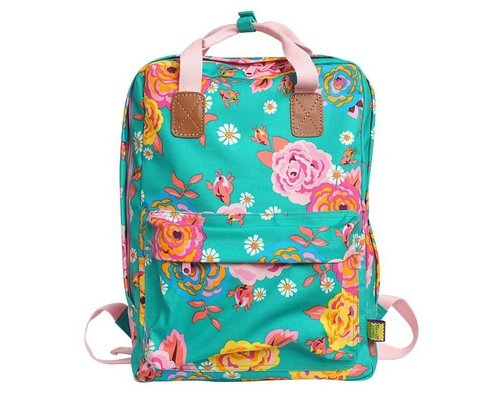 Asian Vintage Flower Backpack